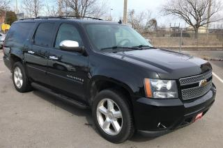 Used 2008 Chevrolet Suburban LTZ ** 4X4, HTD LEATH, TOW PKG, 7 PASS ** for sale in St Catharines, ON