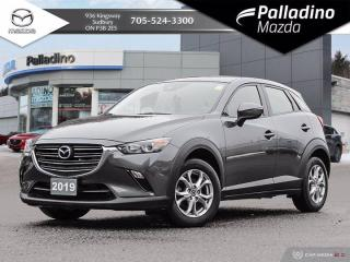 Used 2019 Mazda CX-3 GS - ALL WHEEL DRIVE - ONE OWNER - CLEAN HISTORY for sale in Sudbury, ON