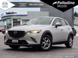 Used 2018 Mazda CX-3 GS - ONE OWNER - CLEAN HISTORY - FRESH OFF LEASE for sale in Sudbury, ON