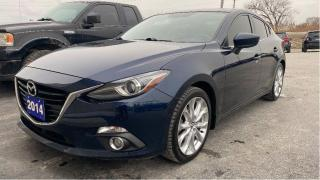 Used 2014 Mazda MAZDA3 GT-SKY for sale in Tilbury, ON