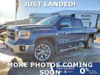 Used 2015 GMC Sierra 1500 SLT 4x4 Crew Cab | Heated Seats | Bose Audio for sale in Winnipeg, MB