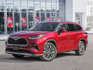 New 2021 Toyota Highlander Highlander Limited AWD for sale in Pickering, ON