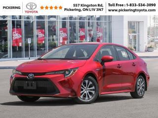 New 2021 Toyota Corolla COROLLA HYBRID for sale in Pickering, ON