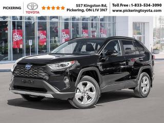 New 2021 Toyota RAV4 RAV4 Hybrid Limited AWD for sale in Pickering, ON