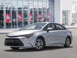 New 2021 Toyota Corolla COROLLA HYBRID for sale in Pickering, ON
