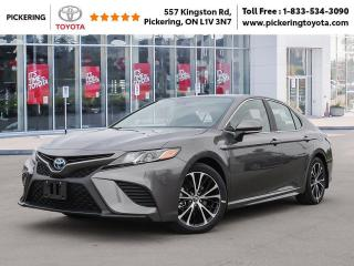 New 2020 Toyota Camry CAMRY HYBRID SE for sale in Pickering, ON