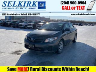 Used 2013 Toyota Corolla LE  *HEATED SEATS* for sale in Selkirk, MB