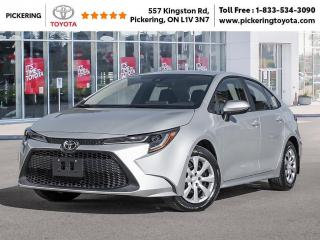 New 2021 Toyota Corolla COROLLA LE CVT for sale in Pickering, ON