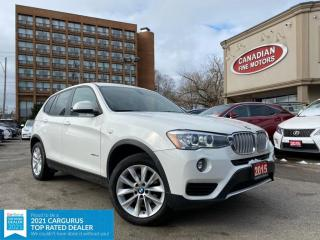 Used 2015 BMW X3 HEATED SEATS | BLUE TOOTH | 4 NEW SNOW TIRES* | for sale in Scarborough, ON