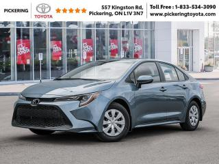New 2020 Toyota Corolla Corolla L CVT for sale in Pickering, ON