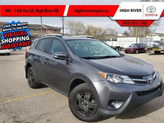 Used 2014 Toyota RAV4 LE  AWD for sale in High River, AB