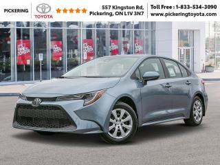 New 2020 Toyota Corolla COROLLA LE CVT for sale in Pickering, ON