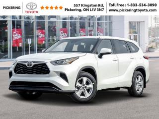 New 2020 Toyota Highlander Highlander LE AWD for sale in Pickering, ON