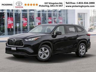 New 2020 Toyota Highlander LE AWD for sale in Pickering, ON