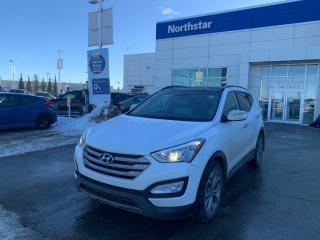 Used 2016 Hyundai Santa Fe Sport LTD AWD/LEATHER/NAV/PANOROOF/COOLEDSEATS for sale in Edmonton, AB