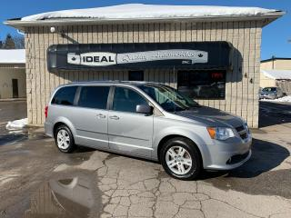 Used 2015 Dodge Grand Caravan Crew Plus for sale in Mount Brydges, ON