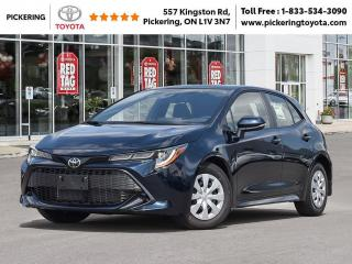 New 2020 Toyota Corolla Hatchback Corolla Hatchback CVT for sale in Pickering, ON