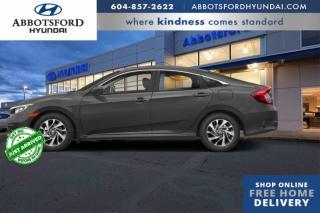 Used 2018 Honda Civic Sedan EX  - Sunroof -  Bluetooth - $149 B/W for sale in Abbotsford, BC
