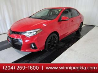 Used 2015 Toyota Corolla S *Remote Start!* for sale in Winnipeg, MB