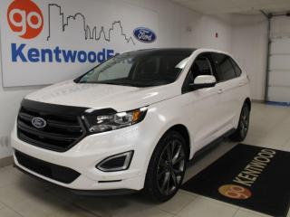 Used 2018 Ford Edge Sport | AWD | NAV | Sunroof | Heated/Cooled Leather | One Owner | Low KM for sale in Edmonton, AB