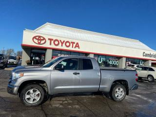 Used 2015 Toyota Tundra SR5  4x4  double cab V8 for sale in Cambridge, ON