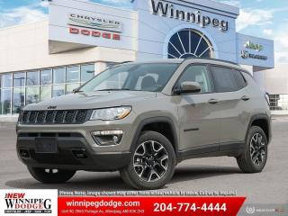 New 2021 Jeep Compass Upland for sale in Winnipeg, MB