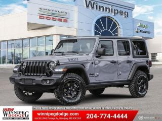 New 2021 Jeep Wrangler Unlimited Willys for sale in Winnipeg, MB