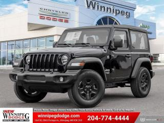 New 2021 Jeep Wrangler SPORT for sale in Winnipeg, MB