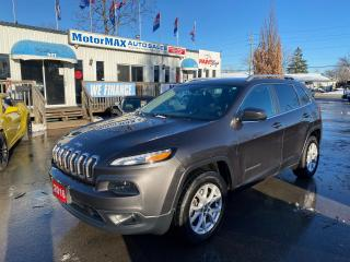 Used 2016 Jeep Cherokee North-4x4-V6-WE FINANCE for sale in Stoney Creek, ON