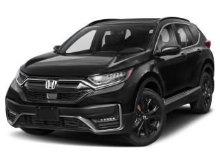 New 2020 Honda CR-V Black Edition for sale in Courtenay, BC