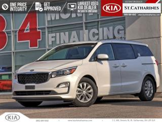 Used 2020 Kia Sedona LX+ | NO-CHARGE EXTENDED WARRANTY - POWER DOOR for sale in St Catharines, ON