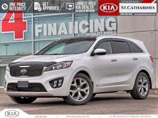 Used 2016 Kia Sorento SX+ | NAPPA LEATHER | 360 CAMERA | LANE ASSIST for sale in St Catharines, ON