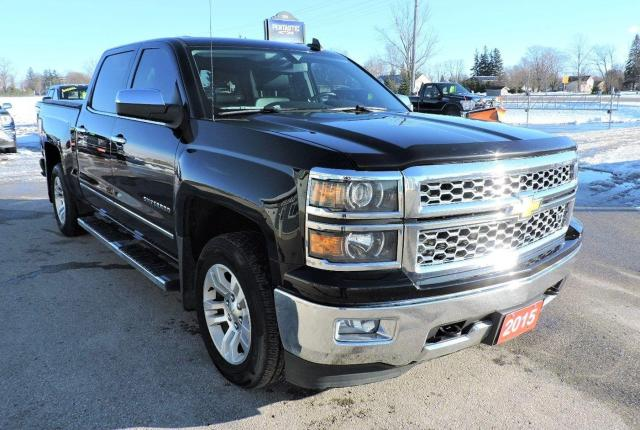 2015 Chevrolet Silverado 1500 LTZ Leather 4X4 Navigation Only 139000 km