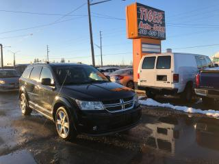 Used 2011 Dodge Journey R/T LEATHER CAM NAV 7 PASSENGER LOADED CERTIFIED for sale in London, ON