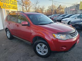 Used 2009 Mitsubishi Outlander ES/BLUETOOTH/HEATED SEATS/ALLOYS/LOADED for sale in Scarborough, ON
