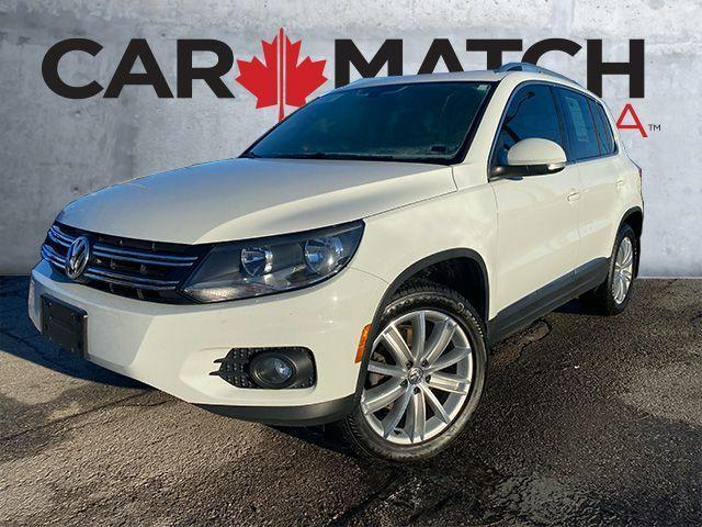2016 Volkswagen Tiguan HIGHLINE / NO ACCIDENTS / LEATHER / NAV
