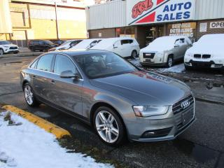 Used 2013 Audi A4 Premium ~ MANUAL ~ NAVIGATION ~ PUSH START for sale in Toronto, ON