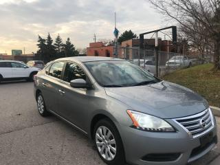 Used 2013 Nissan Sentra NO ACCIDENT,SAFETY+3YEARS WARRANTY INCLUDED for sale in Toronto, ON