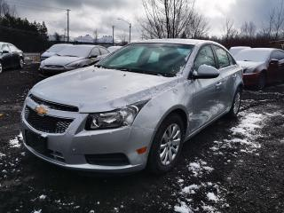 Used 2011 Chevrolet Cruze LT Turbo w/1SA for sale in Ottawa, ON