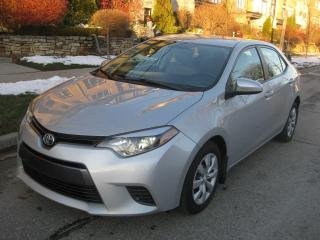 Used 2015 Toyota Corolla LE, CERTIFIED, BACKUP CAM, HEATED SEATS, A1 for sale in Toronto, ON
