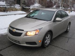 Used 2014 Chevrolet Cruze 2LT, LEATHER, BACK CAM, HEATED SEATS, CERTIFIED for sale in Toronto, ON