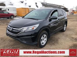 Used 2016 Honda CR-V LX 4D Utility AWD 2.4L for sale in Calgary, AB