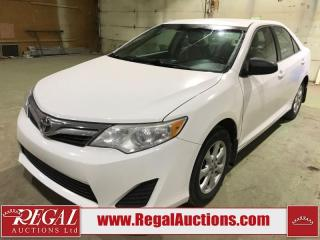 Used 2014 Toyota Camry LE 4D Sedan FWD for sale in Calgary, AB