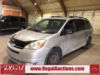 Used 2004 Toyota Sienna XLE 4D Wagon AWD for sale in Calgary, AB