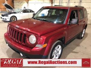 Used 2012 Jeep Patriot Sport 4D Utility 4WD for sale in Calgary, AB