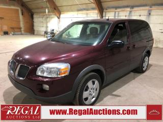 Used 2008 Pontiac Montana 4D Wagon FWD for sale in Calgary, AB