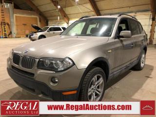 Used 2008 BMW X3 3.0 4D UTILITY AWD for sale in Calgary, AB