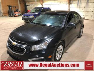 Used 2015 Chevrolet Cruze 1LT 4D Sedan Turbo for sale in Calgary, AB