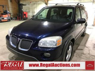 Used 2007 Pontiac MONTANA  4D EXT WAGON FWD for sale in Calgary, AB