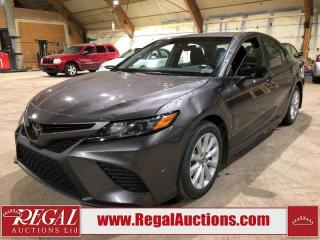 Used 2020 Toyota Camry SE 4D Sedan FWD for sale in Calgary, AB